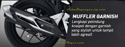 muffler garnish
