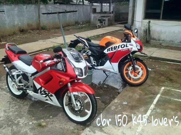 NSR SP dan CBR k45 Repsol