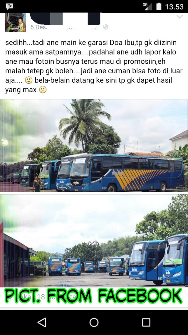 Hunting bus