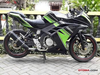 Modifikasi Yamaha New Vixion Full Body Kawasaki Ninja 250 Fi