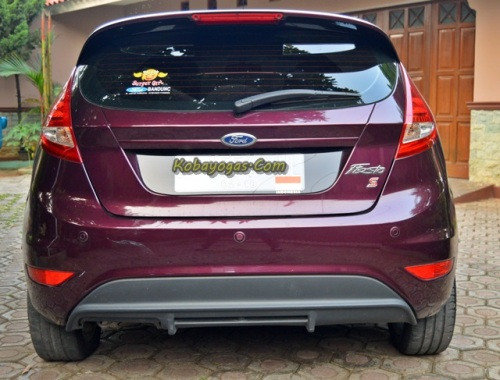 Ford Fiesta S 1.6 DCT 2013