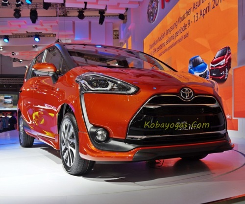 All New Toyota Sienta tipe Q CVT