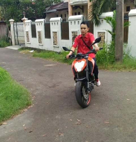 test ride KTM Duke 250